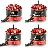 BangBang 4X Racerstar Racing Edition 1104 BR1104 4000KV 1-2S Brushless Motor For 100 120 150 Frame Kit
