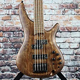 Ibanez SR655E 5-String Electric Bass Guitar (Antique Brown Stained)