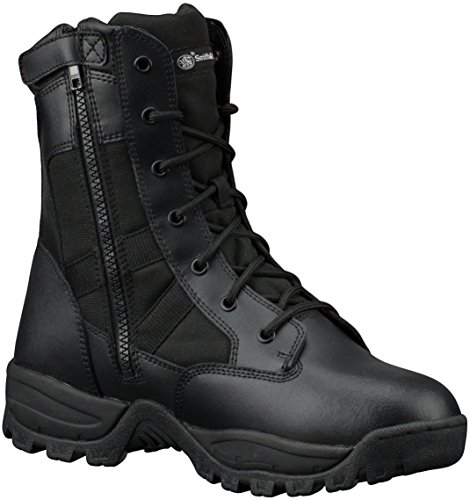 Smith & Wesson Breach 2.0 Men's Tactical Waterproof Side-Zip Boots