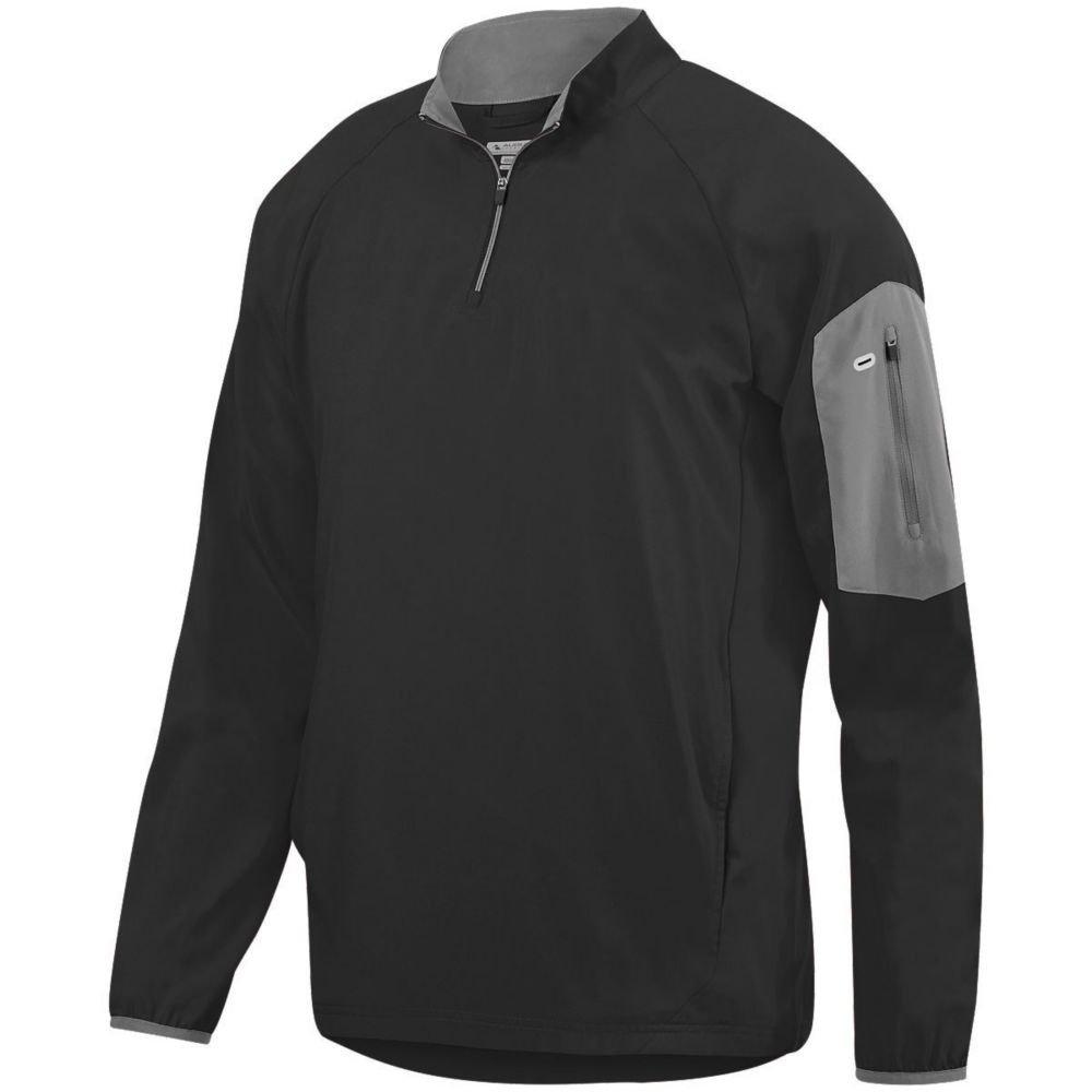 Augusta Activewear OUTERWEAR メンズ B079ZJGTM7 XXX-Large|ブラック/グラファイト ブラック/グラファイト XXX-Large