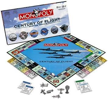 Century of Flight Aviation Monopoly by Monopoly: Amazon.es: Juguetes y juegos