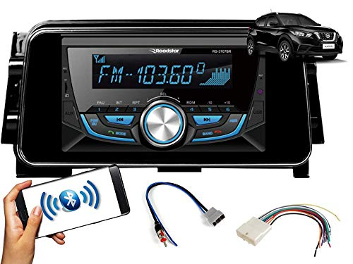 Auto Radio Nissan Kicks Bluetooth FM MP3 Black Piano