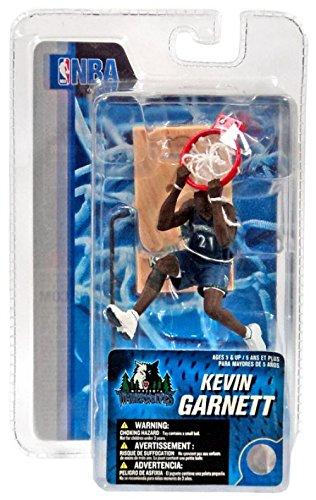 McFarlane Toys NBA 3 Inch Sports Picks Series 4 Mini Figure Kevin Garnett (Minnesota Timberwolves)