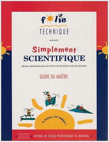 Amazon Fr Simplement Scientifique Cahier Du Professeur