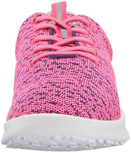 Soft Womens Sampson Sneaker Rosa Stickad