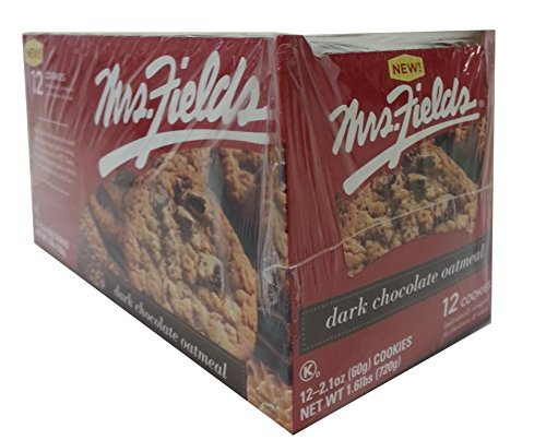 Mrs. Field's Dark Chocolate Oatmeal Cookies 12ct