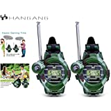 Hangang Walkie Talkies for Kids Durable Spy Kit Gears Talking Games Electronics Two Way Radio Toys Yard Camping Advent for Boys Children Toddler Fun Presents Christmas Birthday Gift Ideas