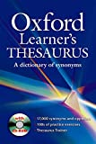 Oxford Learner's Thesaurus Paperback with CD-ROM