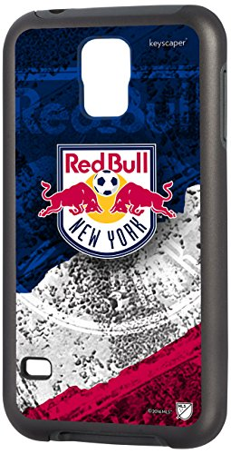 Keyscaper Cell Phone Case for Samsung Galaxy S5 - New York Red Bulls (Red Bull Soccer Phone Case)
