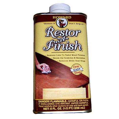 Howard Restor-A-Finish Restore It 8oz - Dark Walnut