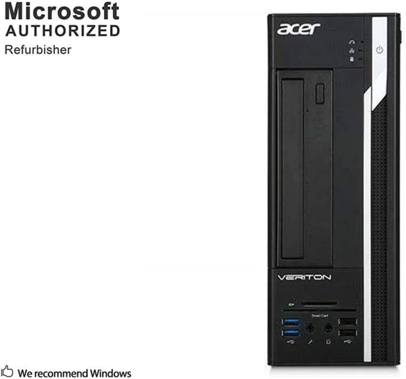 Acer Veriton X4640G Small Form Factor Desktop PC, Intel Core Quad i5 6500 up to 3.6GHz, 8G DDR4, 2T, WiFi, BT, VGA, DP, Win 10 64 Bit-Multi-Language Supports English/Spanish/French(Renewed)