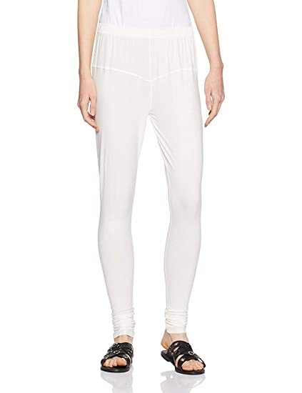 ceeb98408eb00 RD Grand: Women's Free Size Leggings: Off-White Color (Free Size ...