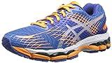 ASICS Women's Gel-Nimbus 17 Running Shoe,White/Hot Coral/Apple,12 M US