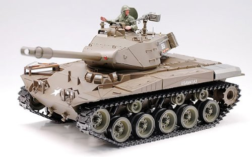 U.S. M41A3 WALKER BULLDOG AIRSOFT RC Battle Tank With Smoke & Sound (Tank Bulldog)