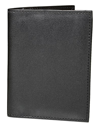 ASHLIN Passport Holder Travel Wallet - Vegan Leather RFID Holds Passport,Business & Credit Cards [RFIDP221-00-01]