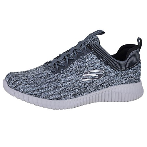 Skechers Sport Heren Elite Flex Hartnell Mode Sneaker Grijs / Zwart