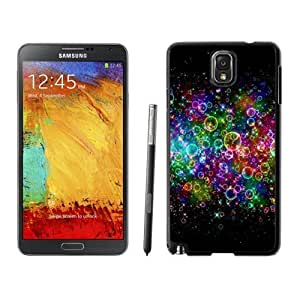NEW Custom Designed For SamSung Galaxy S3 Case Cover Phone With Rainbow Colored Soap Bubbles_Black Phone