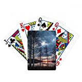 Lake Trees Science Nature Scenery Poker Playing Card Tabletop Board Game Gift