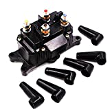 12V ATV Winch Solenoid Relay Contactor for WARN A2000 A2500 U2500 RT15 RT25 RT30 XT15 XT25 XT30 RT40 XT40 KFI ST17 S2000 A2500 A3000 U4500 U4500w SE25 SE35 SE45 CYCLE COUNTRY Work Power Powermax