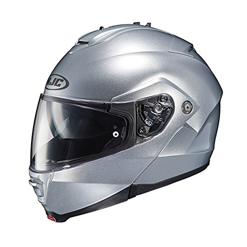 HJC 980-574 IS-MAX II Modular Motorcycle Helmet (Silver, ()