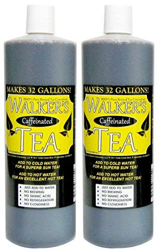 Liquid Tea Concentrate with Caffeine- Makes 64 Gallons! by Walker's Tea