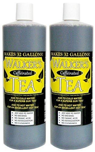 Dispenser Liquid Concentrate Tea - Liquid Tea Concentrate with Caffeine- Makes 64 Gallons!