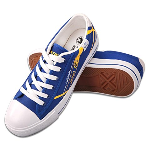 XCOSER Fate Grand Order Cosplay Saber Arturia Pendragon Canvas Shoes 38