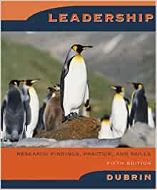 Pdf andrew j dubrin leadership 7th edition 28 pages chapter andrew j dubrin leadership 7th edition leadership research findings practice and skills fandeluxe Image collections