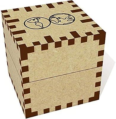 Azeeda Pequeña Mapa del Mundo Joyería Caja (JB00045118): Amazon.es: Juguetes y juegos