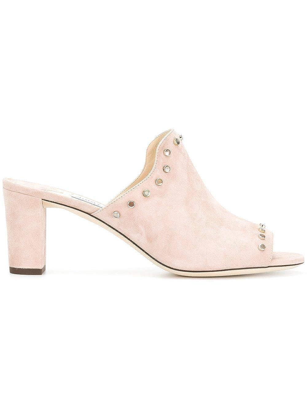 - Jimmy Choo Women's MYLA65UEBPINK Pink Suede Heels