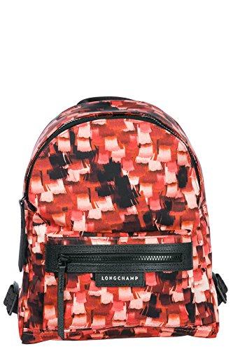 Longchamp Rucksack Damen Tasche Schulrucksack Rot