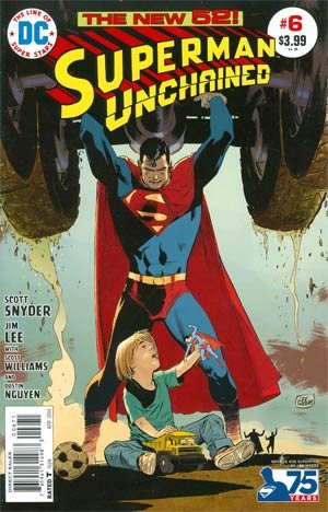 Superman Unchained #6 1:50 Variant Cover