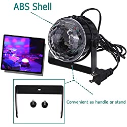 RGB Full Colors Led Lights, 18 LEDS per Tube. Backstage Preparation Tools – Automatic Music Sound Control Stage Lighting for Dance Wedding Sing Show Parties by DidaDi Professional Illumination
