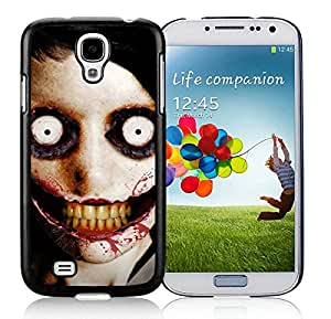 jeff the killer Black Samsung Galaxy S4 I9500 Screen Cover Case Beautiful and Cool Look
