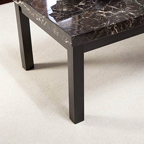 - Amazon.com: Galassia Faux Marble Coffee Table: Kitchen & Dining