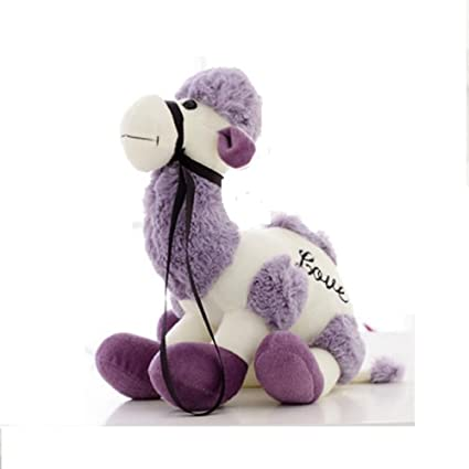 Large Funny Purple Pillows Plush Stuffed Animals Cute Camel Doll Peluches Grandes Toys