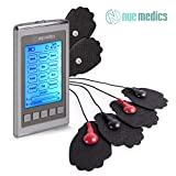 NueMedics Tens Unit Muscle Stimulator 12 Massage Modes [Lifetime Warranty] Electronic Pulse Massager