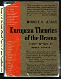 European Theories of the Drama, Barrett H. Clark, 0517505398