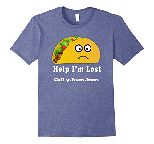 Mens Lost Taco Tuesday Shirt Taco Bout A Party Tacos And Tequila 3Xl Heather Blue
