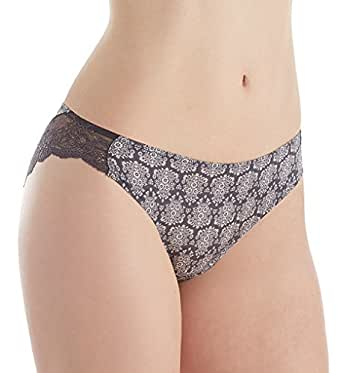 Maidenform Comfort Devotion Lace Back Tanga Panty (40159) 5/Baroque Print/Nine