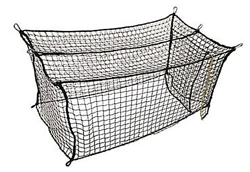 #21 Deluxe Poly Batting Cage Net: 55'L x 14'W x 12'H
