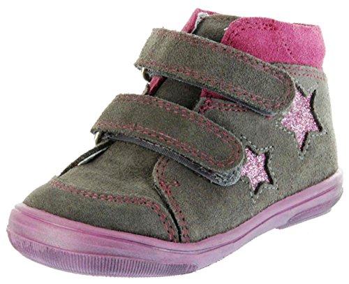 El zapato de los niños 20 21 22 23 24 cuero marrón intercambiable 0332-831-6611 braun