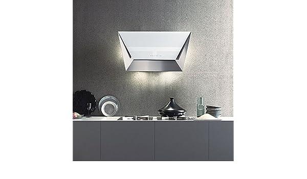 Falmec – Campana de pared prisma acabado blanco de 85 cm: Amazon.es: Hogar