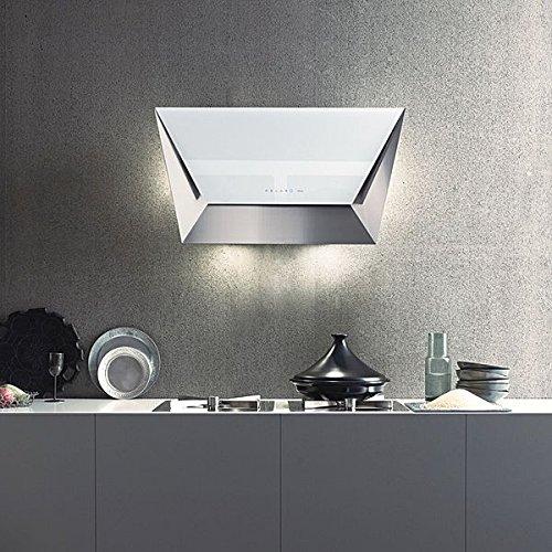 Falmec - Campana de pared prisma acabado blanco de 85 cm ...
