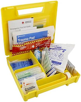 Abn 138 Piece Travel First Aid Kit Home, Office, Travel – Car Emergency Kit, Road Trip Essentials Medical Equipment