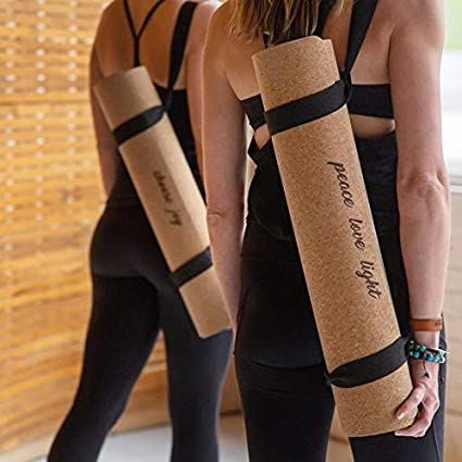 Amazon.com : Insane Move Premium Travel/Yoga Cork Yoga Mat ...