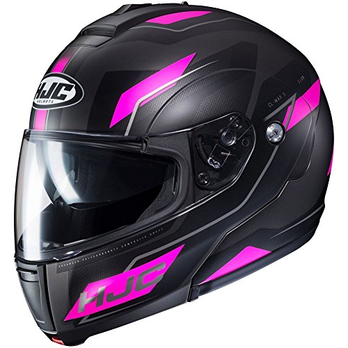 HJC Flow Women's CL-MAX 3 Modular Street Motorcycle Helmet - MC-8SF / Large