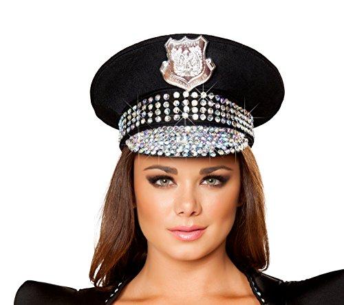 Roma Costume Adult Studded Police