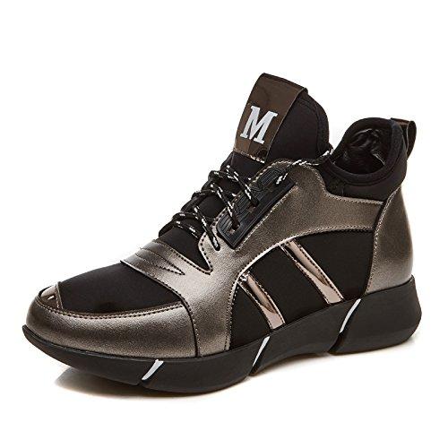 cf9459c5 Ngrdx Color Gun Mujer amp;g De Correr Casual Para Estudiante Femenino Thick Femeninos  Calzado Deportivo Zapatos OZuPkXi