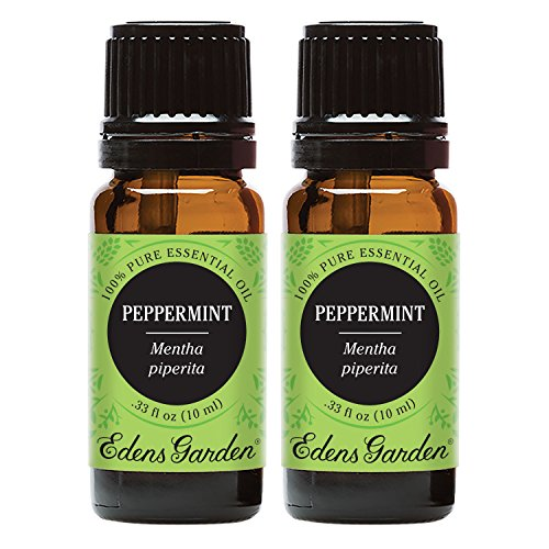Edens Garden Peppermint Essential Oil, 100% Pure Therapeutic Grade (Highest Quality Aromatherapy Oils), 10 ml Value Pack